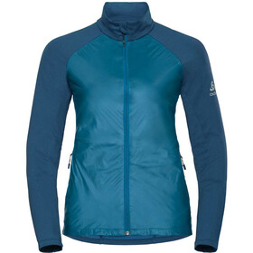 Odlo W's Velocity Element Light Jacket turkish tile-poseidon
